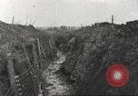 Image of American soldiers in World War 1 trench France, 1917, second 2 stock footage video 65675063069