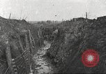 Image of American soldiers in World War 1 trench France, 1917, second 3 stock footage video 65675063069