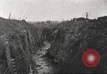 Image of American soldiers in World War 1 trench France, 1917, second 4 stock footage video 65675063069