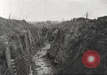 Image of American soldiers in World War 1 trench France, 1917, second 5 stock footage video 65675063069
