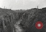 Image of American soldiers in World War 1 trench France, 1917, second 7 stock footage video 65675063069