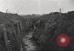 Image of American soldiers in World War 1 trench France, 1917, second 8 stock footage video 65675063069