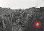 Image of American soldiers in World War 1 trench France, 1917, second 11 stock footage video 65675063069