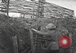 Image of American soldiers in World War 1 trench France, 1917, second 14 stock footage video 65675063069