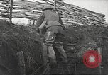 Image of American soldiers in World War 1 trench France, 1917, second 15 stock footage video 65675063069