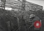 Image of American soldiers in World War 1 trench France, 1917, second 18 stock footage video 65675063069