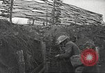 Image of American soldiers in World War 1 trench France, 1917, second 19 stock footage video 65675063069