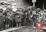 Image of American soldiers in World War 1 trench France, 1917, second 25 stock footage video 65675063069