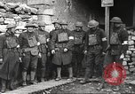 Image of American soldiers in World War 1 trench France, 1917, second 28 stock footage video 65675063069
