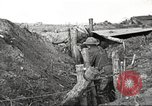 Image of American soldiers in World War 1 trench France, 1917, second 31 stock footage video 65675063069