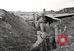 Image of American soldiers in World War 1 trench France, 1917, second 32 stock footage video 65675063069