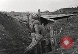 Image of American soldiers in World War 1 trench France, 1917, second 33 stock footage video 65675063069