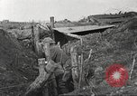Image of American soldiers in World War 1 trench France, 1917, second 35 stock footage video 65675063069