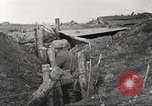 Image of American soldiers in World War 1 trench France, 1917, second 36 stock footage video 65675063069