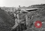 Image of American soldiers in World War 1 trench France, 1917, second 40 stock footage video 65675063069