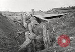 Image of American soldiers in World War 1 trench France, 1917, second 44 stock footage video 65675063069