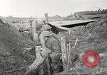 Image of American soldiers in World War 1 trench France, 1917, second 45 stock footage video 65675063069
