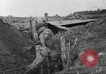Image of American soldiers in World War 1 trench France, 1917, second 46 stock footage video 65675063069