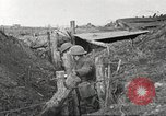 Image of American soldiers in World War 1 trench France, 1917, second 47 stock footage video 65675063069
