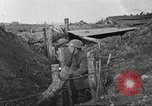 Image of American soldiers in World War 1 trench France, 1917, second 48 stock footage video 65675063069