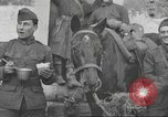 Image of American soldiers eat in World War 1 France, 1917, second 11 stock footage video 65675063070