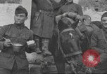 Image of American soldiers eat in World War 1 France, 1917, second 15 stock footage video 65675063070