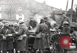 Image of American soldier mail call World War 1 France, 1917, second 15 stock footage video 65675063071