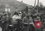 Image of American soldier mail call World War 1 France, 1917, second 22 stock footage video 65675063071