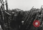 Image of American soldier mail call World War 1 France, 1917, second 27 stock footage video 65675063071