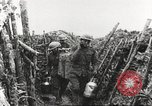 Image of American soldier mail call World War 1 France, 1917, second 28 stock footage video 65675063071