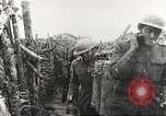 Image of American soldier mail call World War 1 France, 1917, second 31 stock footage video 65675063071