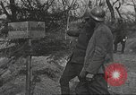 Image of American soldier mail call World War 1 France, 1917, second 33 stock footage video 65675063071