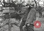 Image of American soldier mail call World War 1 France, 1917, second 35 stock footage video 65675063071