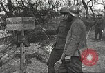 Image of American soldier mail call World War 1 France, 1917, second 36 stock footage video 65675063071