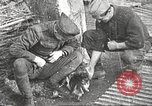 Image of US soldiers examine gunfire damaged car France, 1917, second 20 stock footage video 65675063072