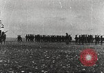Image of Joint French and American infantry parade Europe, 1918, second 4 stock footage video 65675063075