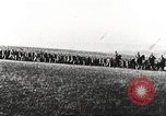 Image of Joint French and American infantry parade Europe, 1918, second 32 stock footage video 65675063075