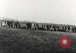 Image of Joint French and American infantry parade Europe, 1918, second 40 stock footage video 65675063075