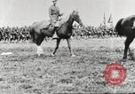 Image of Joint French and American infantry parade Europe, 1918, second 45 stock footage video 65675063075