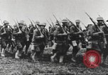 Image of Joint French and American infantry parade Europe, 1918, second 46 stock footage video 65675063075
