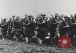 Image of Joint French and American infantry parade Europe, 1918, second 47 stock footage video 65675063075