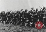 Image of Joint French and American infantry parade Europe, 1918, second 48 stock footage video 65675063075