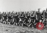 Image of Joint French and American infantry parade Europe, 1918, second 49 stock footage video 65675063075