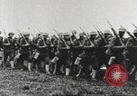Image of Joint French and American infantry parade Europe, 1918, second 50 stock footage video 65675063075
