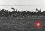 Image of Joint French and American infantry parade Europe, 1918, second 56 stock footage video 65675063075