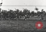 Image of Joint French and American infantry parade Europe, 1918, second 58 stock footage video 65675063075