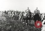 Image of Joint French and American infantry parade Europe, 1918, second 62 stock footage video 65675063075