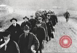 Image of new US Army recruits at World War 1 training camp United States USA, 1917, second 8 stock footage video 65675063079