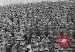 Image of new US Army recruits at World War 1 training camp United States USA, 1917, second 10 stock footage video 65675063079