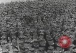 Image of new US Army recruits at World War 1 training camp United States USA, 1917, second 11 stock footage video 65675063079